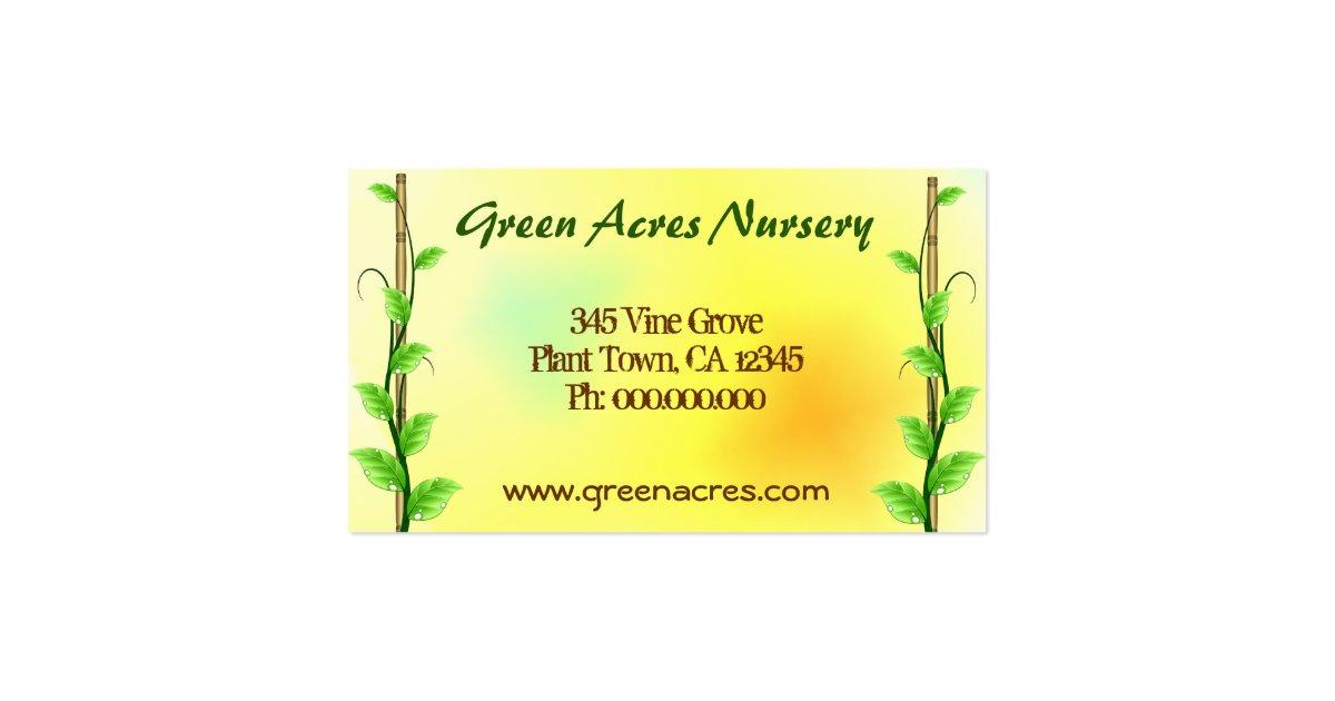 seedling nursery business plan