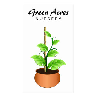 Plant Nursery Business Cards Template Business Card