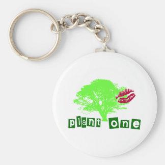 Plant One Keychain