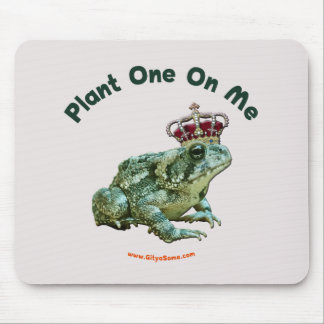Plant One On Me Frog Toad Kiss Mouse Pads