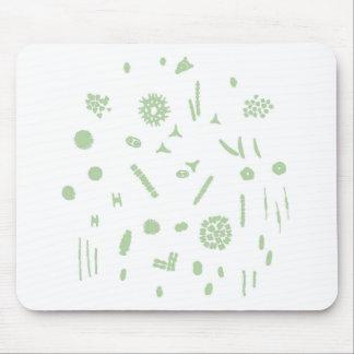 plant plankton mouse pad
