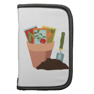Plant Pot Seed Packets Folio Planners