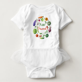 Plant-Powered Designs Baby Bodysuit