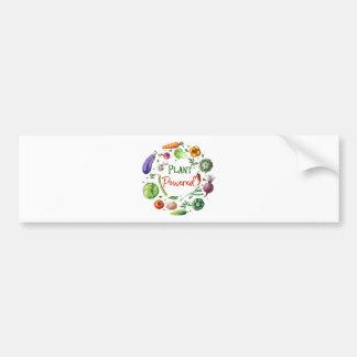 Plant-Powered Designs Bumper Sticker