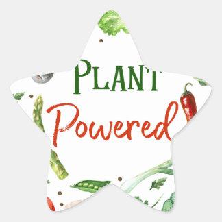 Plant-Powered Designs Star Sticker