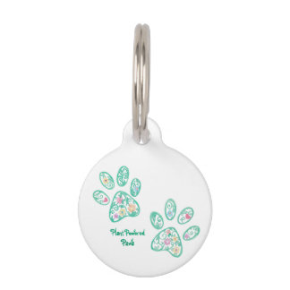Plant Powered Paws Dog Tag