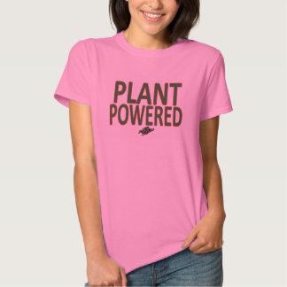 'Plant Powered' workout/running shirt for Women
