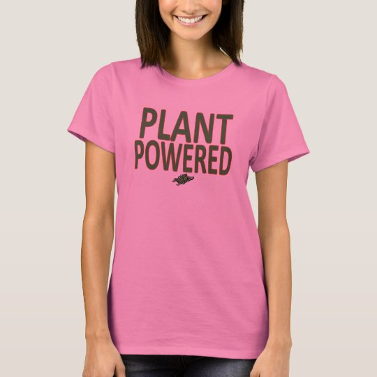 39 plant powered 39 workout running shirt for women zazzle