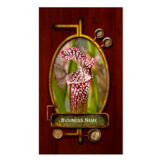Plant - Pretty as a pitcher plant Business Card