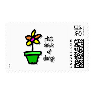 Plant Seeds of Change Postage