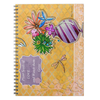 Plant Seeds of Love and Watch Them Grow Notebook