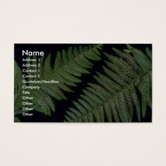 Plant Spears Business Card