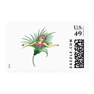 Plant-Sprite Postage Stamp