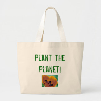 Plant the Planet! Tote Bags