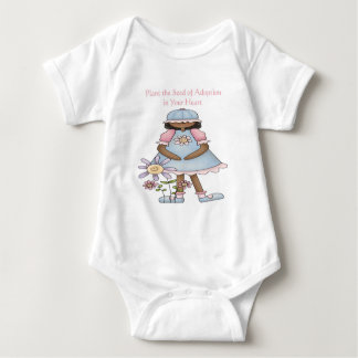Plant the Seed of Adoption in Your Heart Baby Bodysuit
