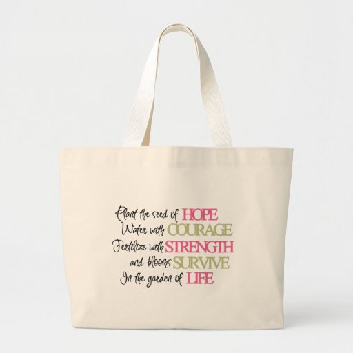 Plant the seed of HOPE Tote Bags