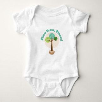 Plant Trees Baby Bodysuit