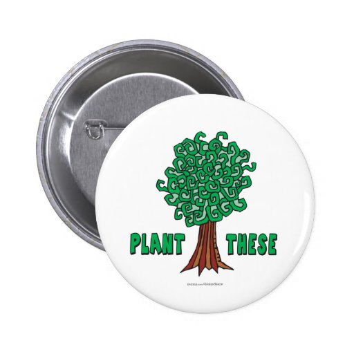 Plant Trees Buttons
