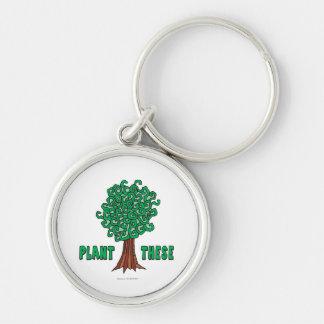 Plant Trees Keychains