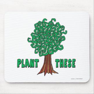 Plant Trees Mousepads