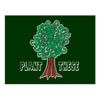 Plant Trees Post Cards