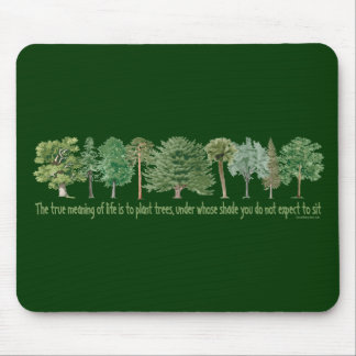 Plant Trees - Tree Lover, Hugger Mouse Pad