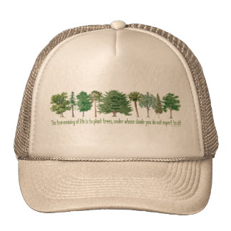 Plant Trees - Tree Lover, Hugger Trucker Hat