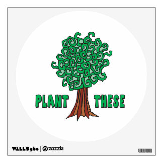 Plant Trees Wall Decal