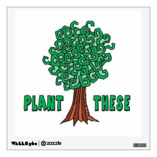 Plant Trees Wall Sticker
