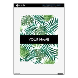 Plant Tropical Botanical Palm Leaf iPad 3 Decals