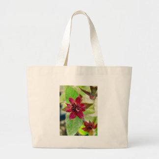 Planta bonita 2 bolsa tela grande