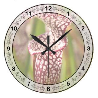 Planta - bonito como planta de jarra reloj redondo grande