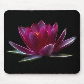 Planta de agua de la flor de Lotus Alfombrillas De Raton