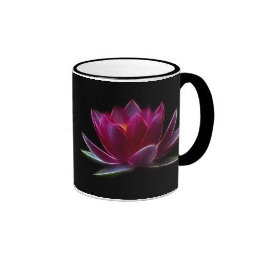 Planta de agua de la flor de Lotus Tazas