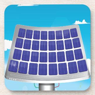 Planta de energía solar posavaso