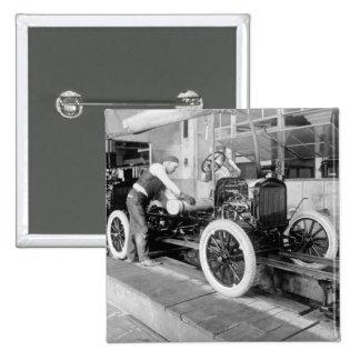 Planta de fabricación auto, los años 20 pin cuadrado