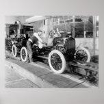 Planta de fabricación auto, los años 20 poster