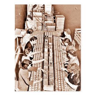 Planta de fabricación de la planta de la defensa postales