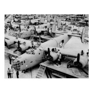 Planta de fabricación del bombardero B-24, 1943 Postales