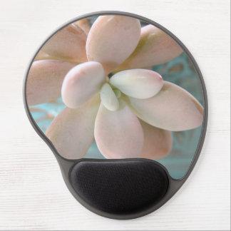 Planta de haba rosada suculenta de jalea de Sedum Alfombrillas De Raton Con Gel