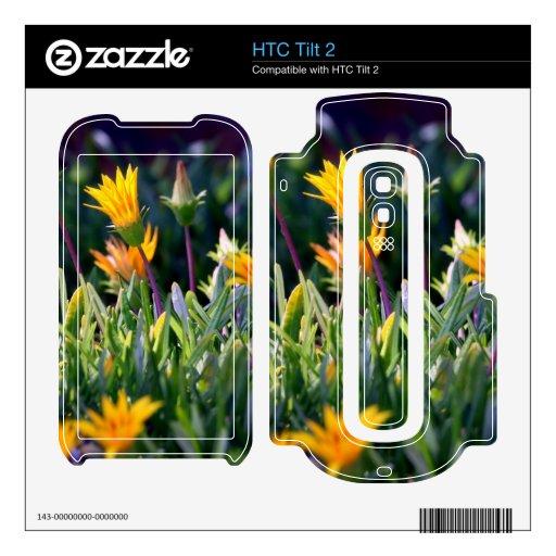 Planta de hielo skins para HTC tilt 2