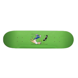 Planta de la cara tabla de skate