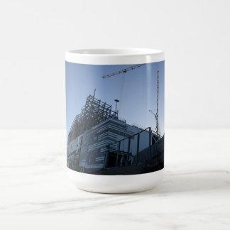 Planta de la construcción de edificios/taza del taza