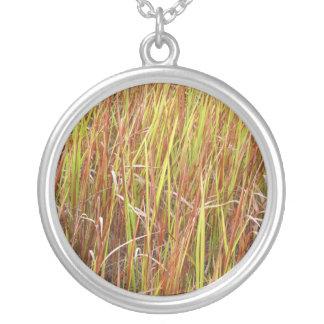 Planta de la Florida del fondo de los sawgrass de  Colgante Redondo