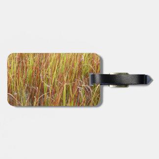 Planta de la Florida del fondo de los sawgrass de  Etiqueta Para Maleta
