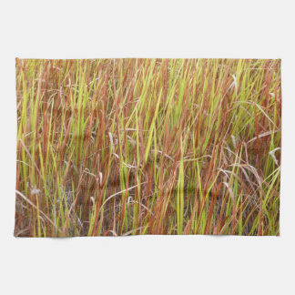 Planta de la Florida del fondo de los sawgrass de  Toalla De Mano