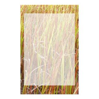 Planta de la Florida del fondo de los sawgrass de  Personalized Stationery