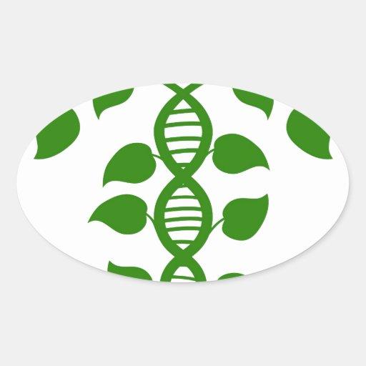 Planta de la naturaleza de la DNA Pegatinas
