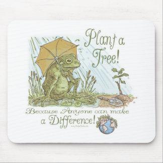 Planta de la rana de Enviro un engranaje del Día d Tapetes De Raton