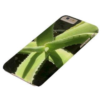 Planta del áloe funda para iPhone 6 plus barely there